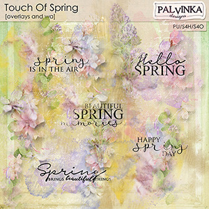 Touch Of Spring Overlays and WA