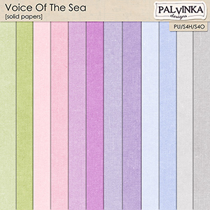 Voice Of The Sea Solid papers