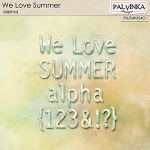 We Love Summer Alpha
