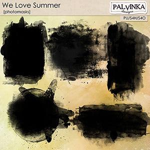 We Love Summer Photomasks