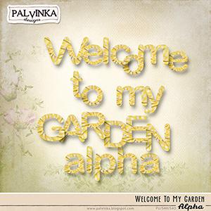 Welcome To My Garden Alpha
