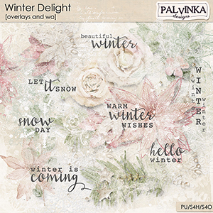 Winter Delight Overlays and WA
