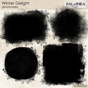 Winter Delight Photomasks