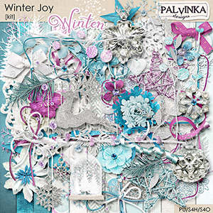 Winter Joy Kit and Alpha