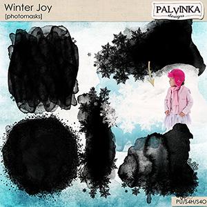 Winter Joy Photomasks