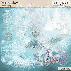 Winter Joy Overlays