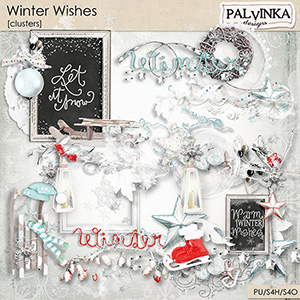 Winter Wishes Clusters