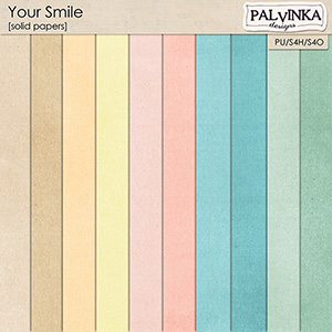 Your Smile Solid papers
