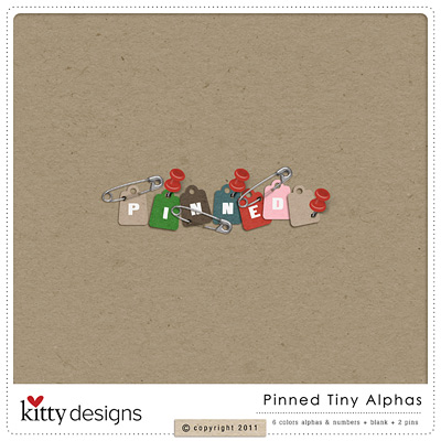 Pinned Tiny Alphas