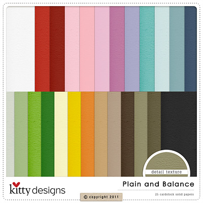 Plain and Balace Paper Pack
