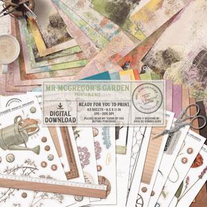 Mr McGregor's Garden Printable Kit