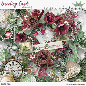 GREETING CARD ELEMENTS
