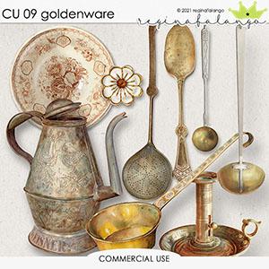 CU 09 GOLDENWARE