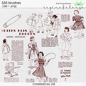 CU 555 BRUSHES FASHION