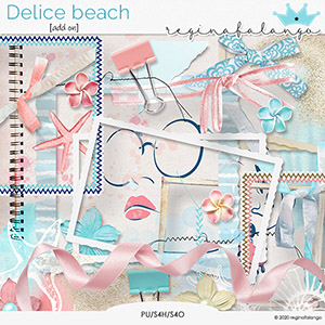 DELICE BEACH ADD ON