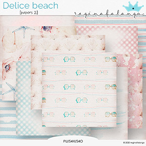 DELICE BEACH  PAPERS 2