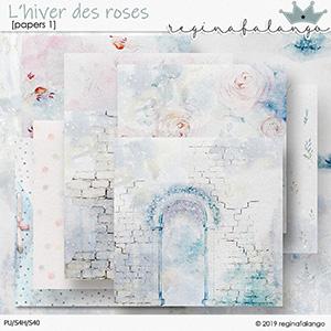 L' HIVER DES ROSES PAPERS 1