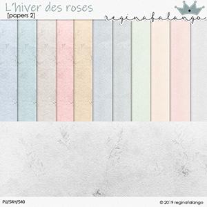 L' HIVER DES ROSES PAPERS 2