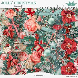 JOLLY CHRISTMAS BORDERS