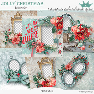 JOLLY CHRISTMAS ALBUM QP