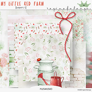 MY LITTLE RED FARM papers 1