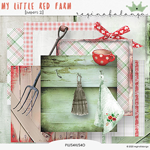MY LITTLE RED FARM papers 2