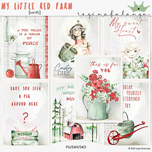 MY LITTLE RED FARM cards