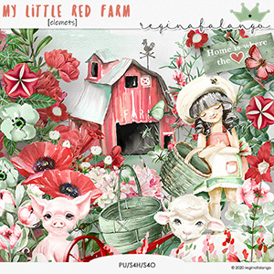 MY LITTLE RED FARM elements