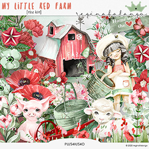 MY LITTLE RED FARM the kit
