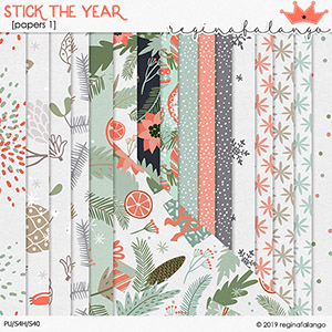 STICK THE YEAR PAPERS 1