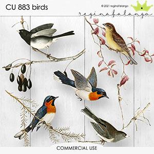CU 883 BIRDS