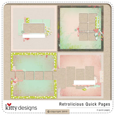 Retrolicious Quick Pages