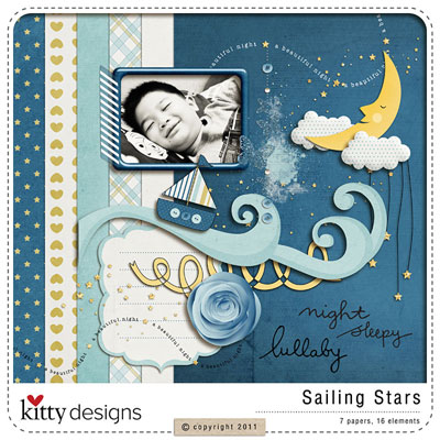 Sailing Star {FREE QUICK PAGE with purchase}