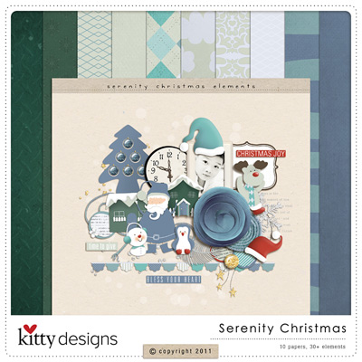 Serenity Christmas {FREE Gift with Purchase}