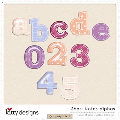 Short Notes alphas