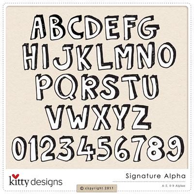 Signature Alpha