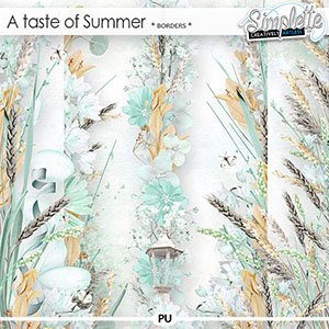 A Taste of Summer (borders)