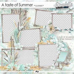 A Taste of Summer (clusters)