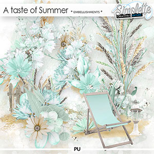 A Taste of Summer (embellishments)