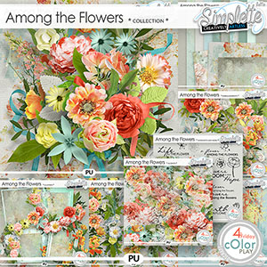 Among the flowers (collection) by Simplette