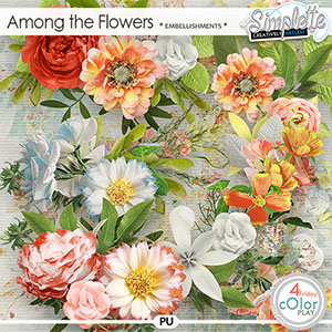 Among the flowers (embellishments) by Simplette