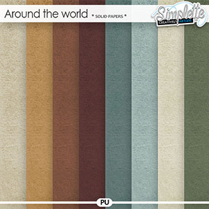 Around the World (solid papers)