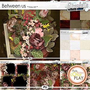 Between Us (collection) by Simplette | Oscraps