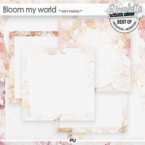 Bloom my world (soft papers) by Simplette