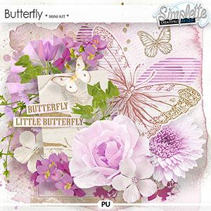 Butterfly (mini kit) by Simplette