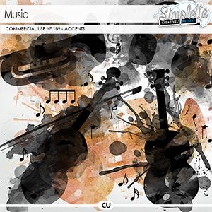 Music (CU accents) 189 by Simplette   Oscraps