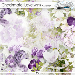 Checkmate : Love wins (accents) by Simplette