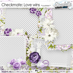 Checkmate : Love wins (clusters) by Simplette