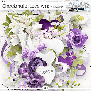 Checkmate : Love wins (elements) by Simplette