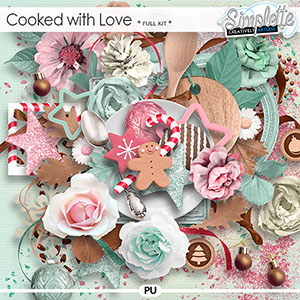 Cooked with Love (full kit) by Simplette